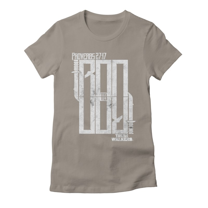 IRON TO IRON Women's T-Shirt by truthwalkers's Artist Shop