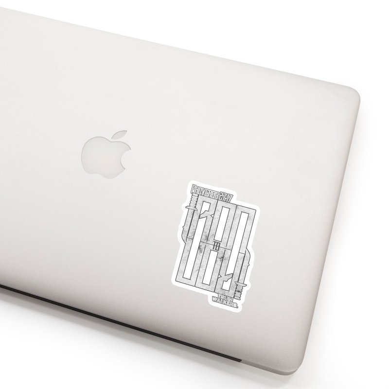IRON TO IRON VR2 Accessories Sticker by truthwalkers's Artist Shop