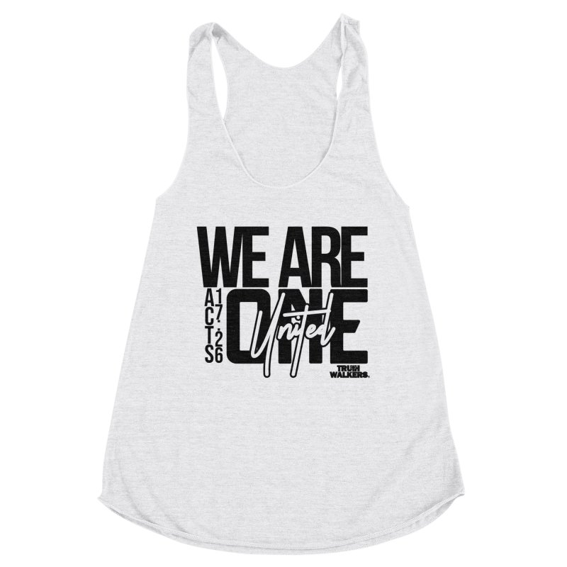 We Are One Women's Tank by truthwalkers's Artist Shop