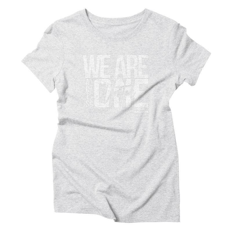 We Are One VR2 Women's T-Shirt by truthwalkers's Artist Shop