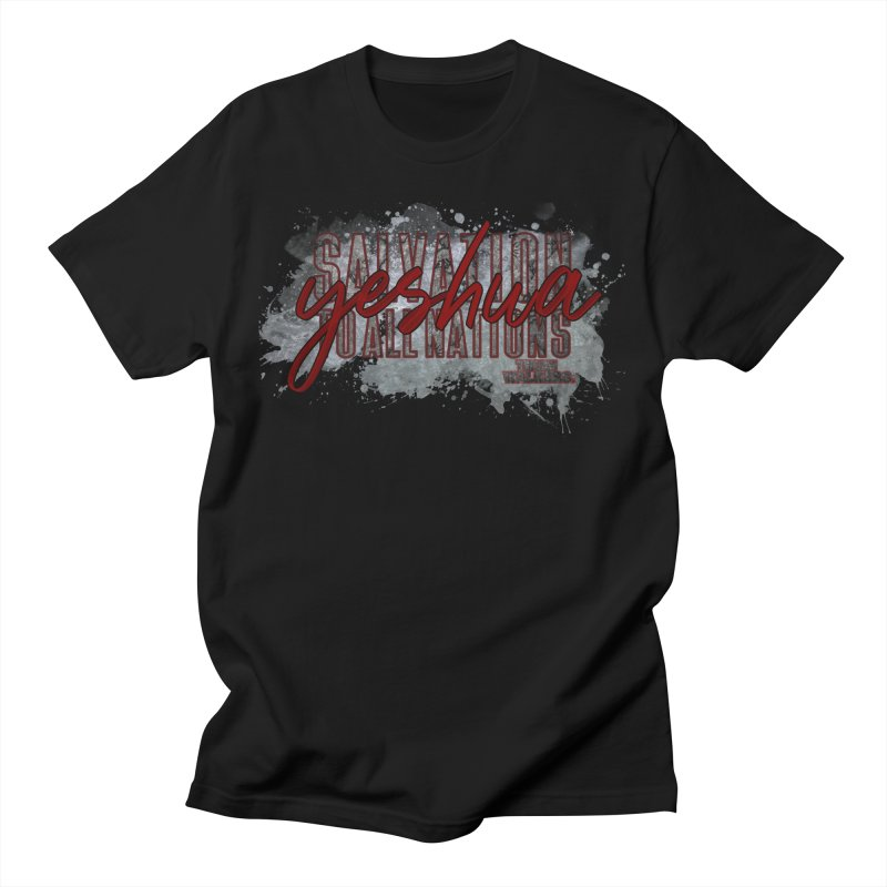YESHUA - Salvation to All Nations Men's T-Shirt by truthwalkers's Artist Shop
