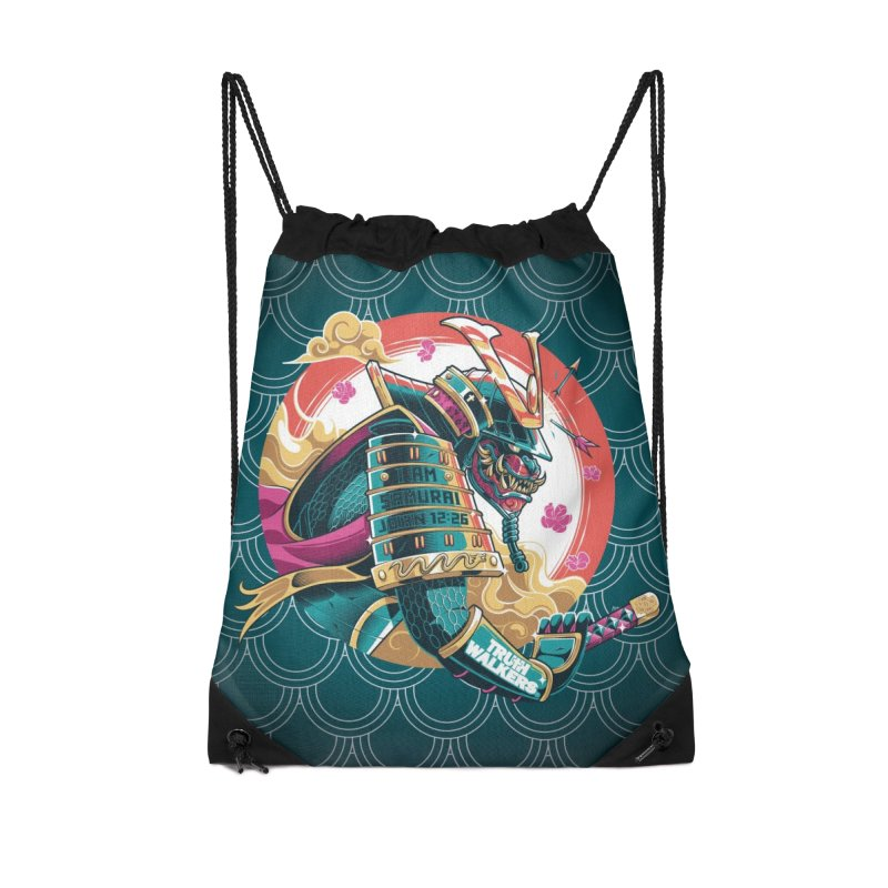 I AM SAMURAI Accessories Bag by truthwalkers's Artist Shop