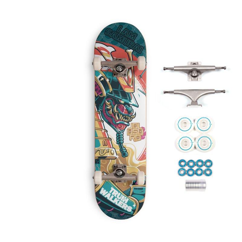 I AM SAMURAI Accessories Skateboard by truthwalkers's Artist Shop