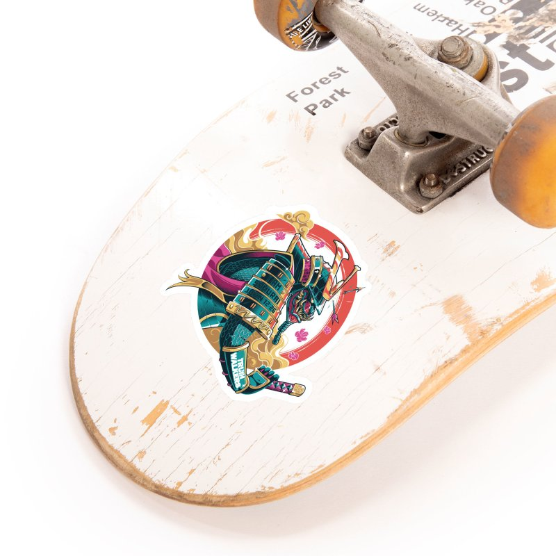 I AM SAMURAI Accessories Sticker by truthwalkers's Artist Shop