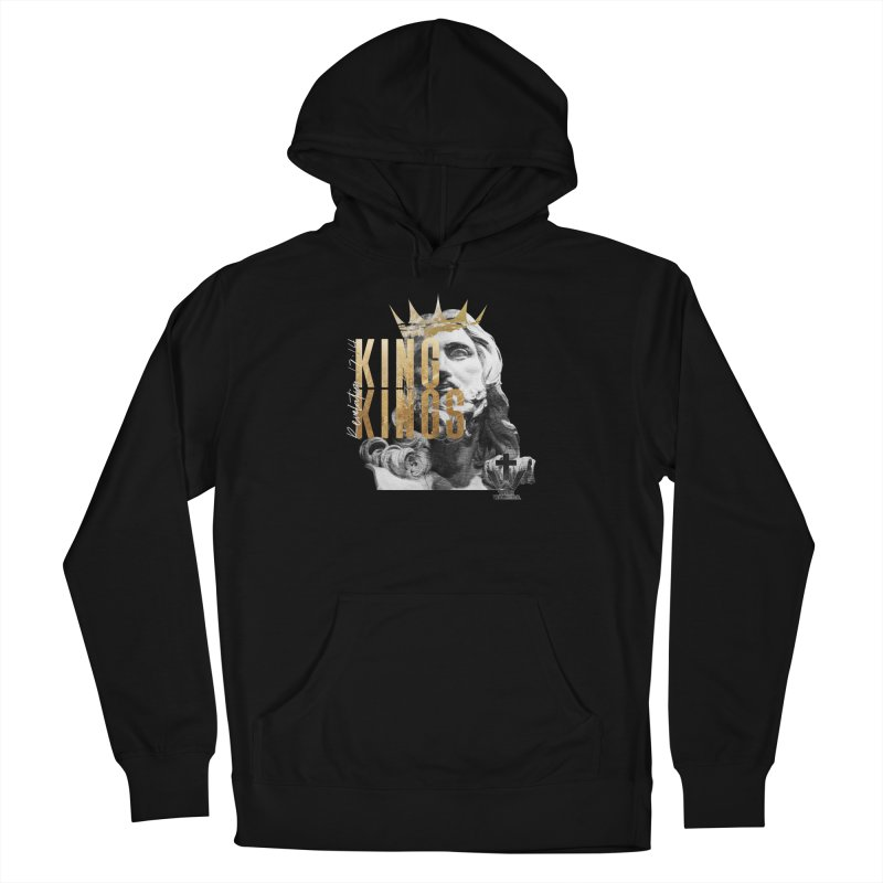 King of kings Bust Women's Pullover Hoody by truthwalkers's Artist Shop