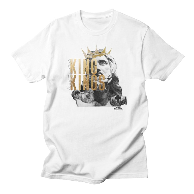 King of kings Bust Men's T-Shirt by truthwalkers's Artist Shop
