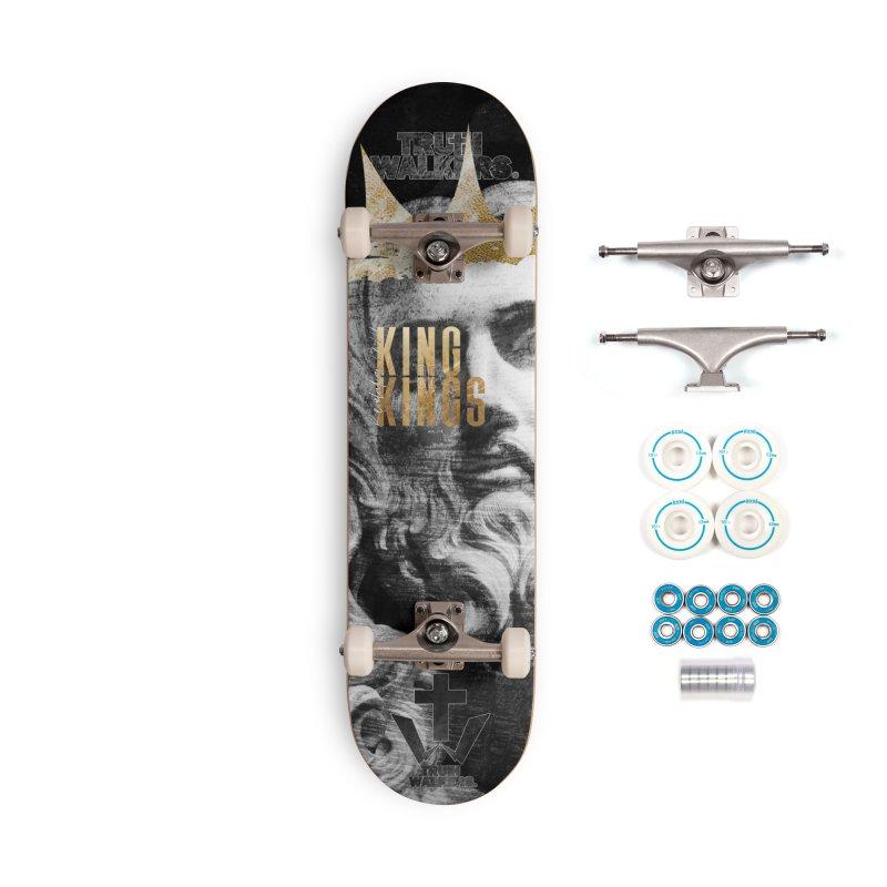 King of kings Bust Accessories Skateboard by truthwalkers's Artist Shop