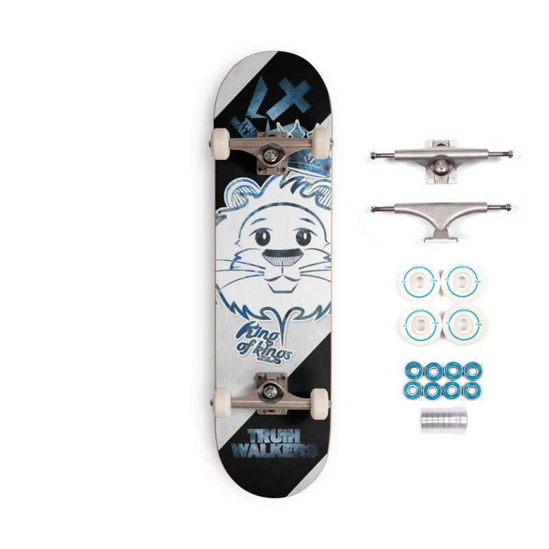 King of kings Lion Accessories Skateboard by truthwalkers's Artist Shop
