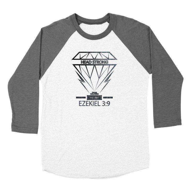 Head Strong Diamond Women's Longsleeve T-Shirt by truthwalkers's Artist Shop