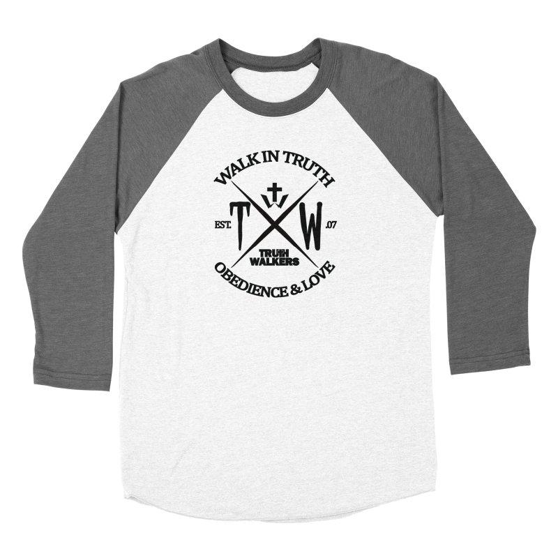 TW Badge Black Women's Longsleeve T-Shirt by truthwalkers's Artist Shop