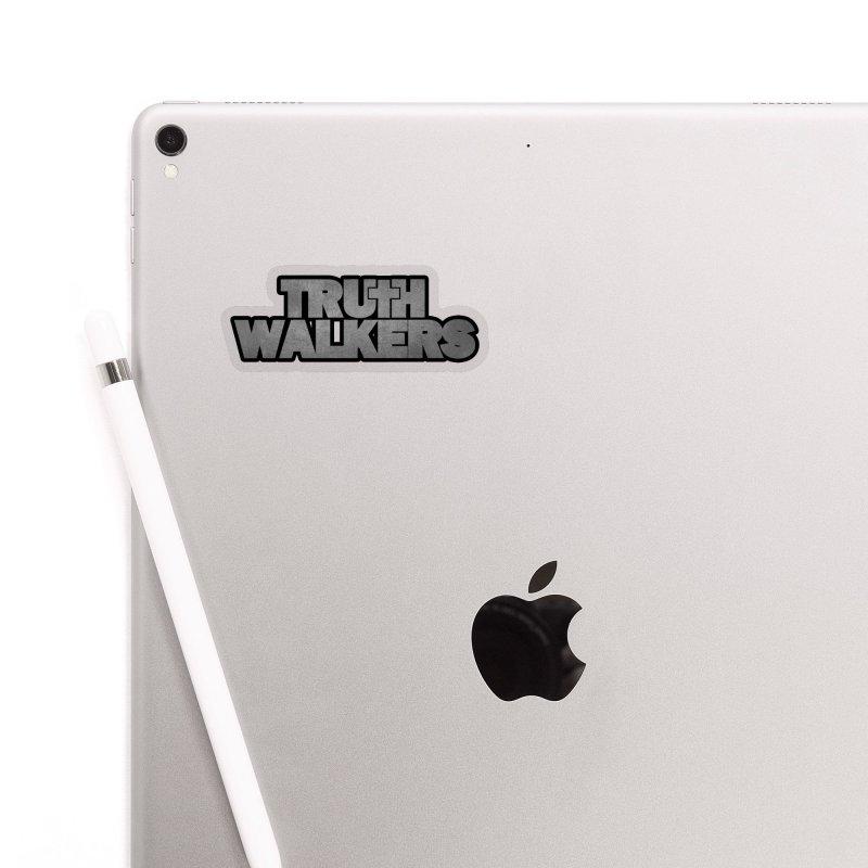 Truth Walkers Steel Accessories Sticker by truthwalkers's Artist Shop