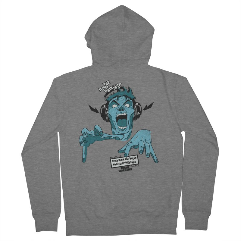The Dead Walking Men's Zip-Up Hoody by truthwalkers's Artist Shop
