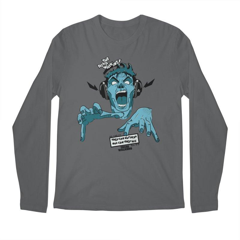 The Dead Walking Men's Longsleeve T-Shirt by truthwalkers's Artist Shop