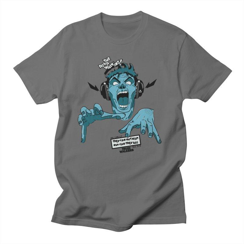 The Dead Walking Men's T-Shirt by truthwalkers's Artist Shop