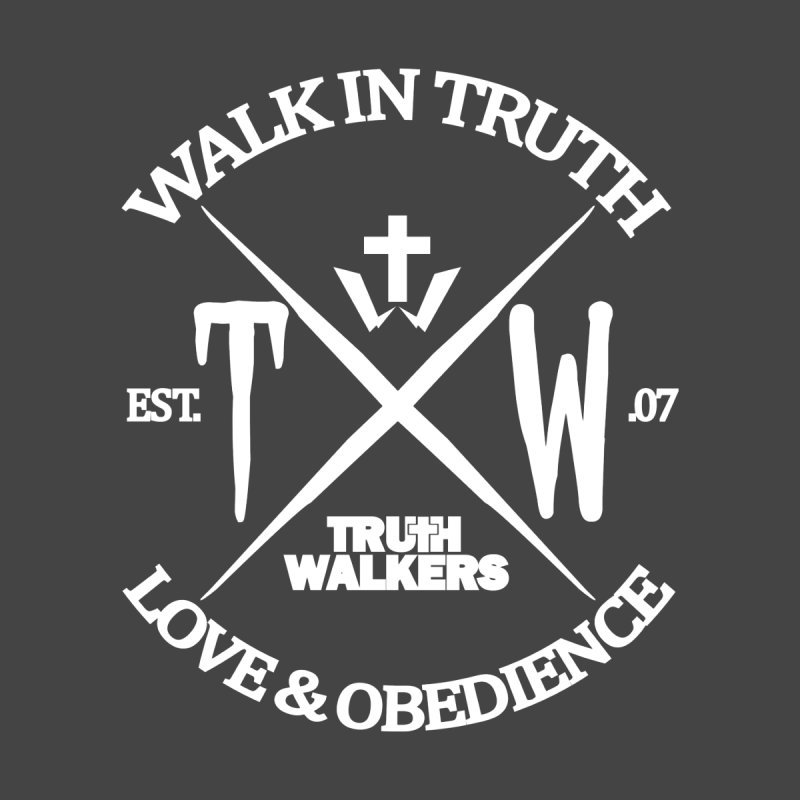 TW Badge White Men's Pullover Hoody by truthwalkers's Artist Shop