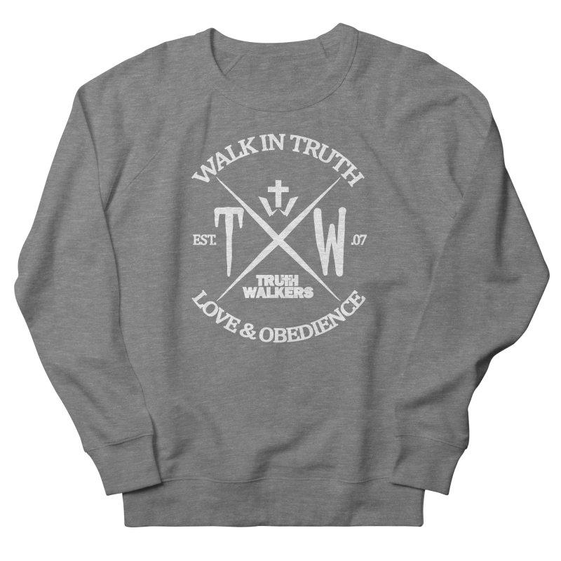 TW Badge White Women's Sweatshirt by truthwalkers's Artist Shop