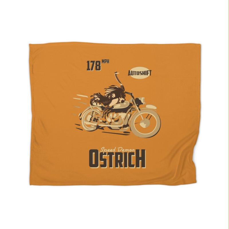 Speed Demon Ostrich   by Trybyk Art