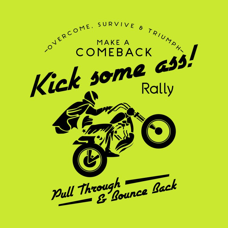 Kick Some Ass ! Men's T-shirt by Trybyk Art
