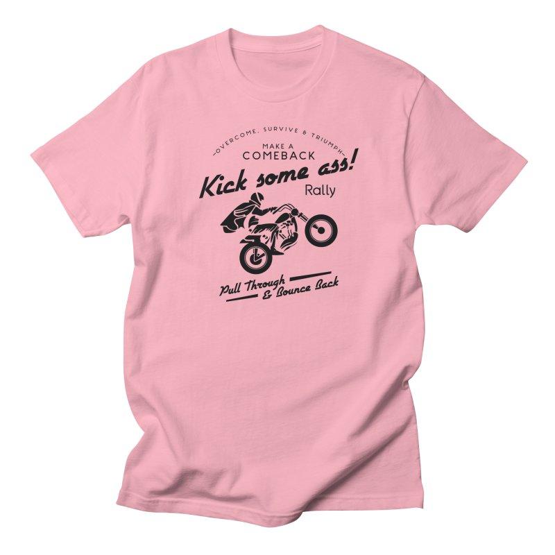 Kick Some Ass ! Men's T-Shirt by Trybyk Art