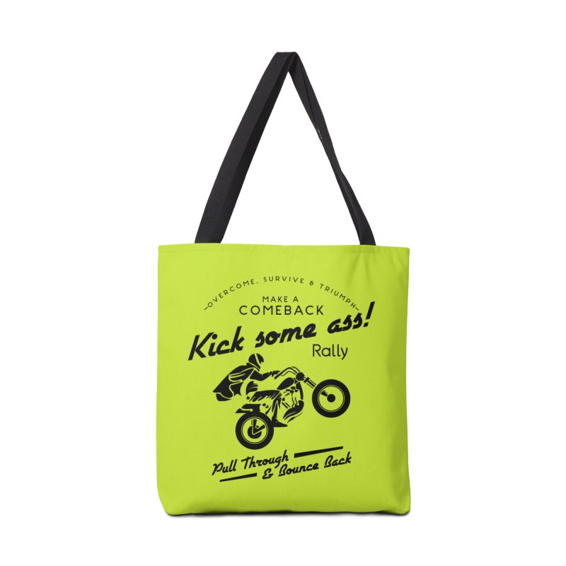 Kick Some Ass ! Accessories Bag by Trybyk Art