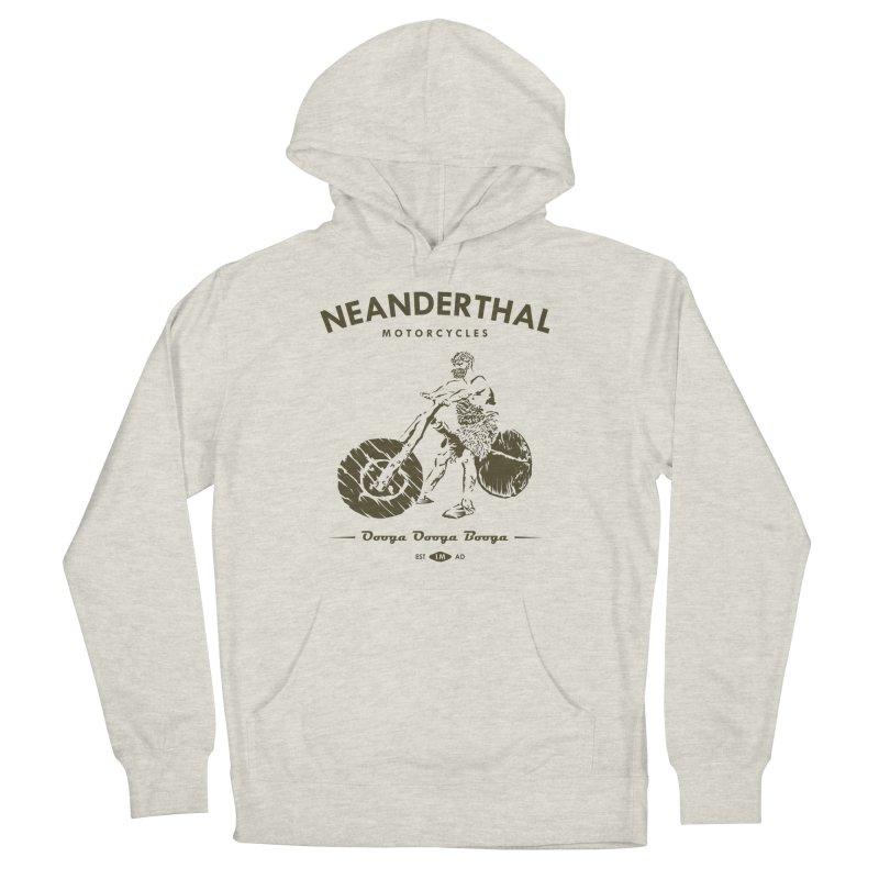 Neanderthal Motors Men's Pullover Hoody by Trybyk Art