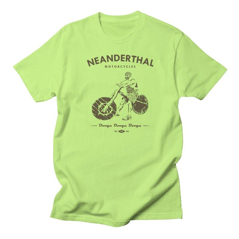 Neanderthal Motors Men's T-Shirt by Trybyk Art
