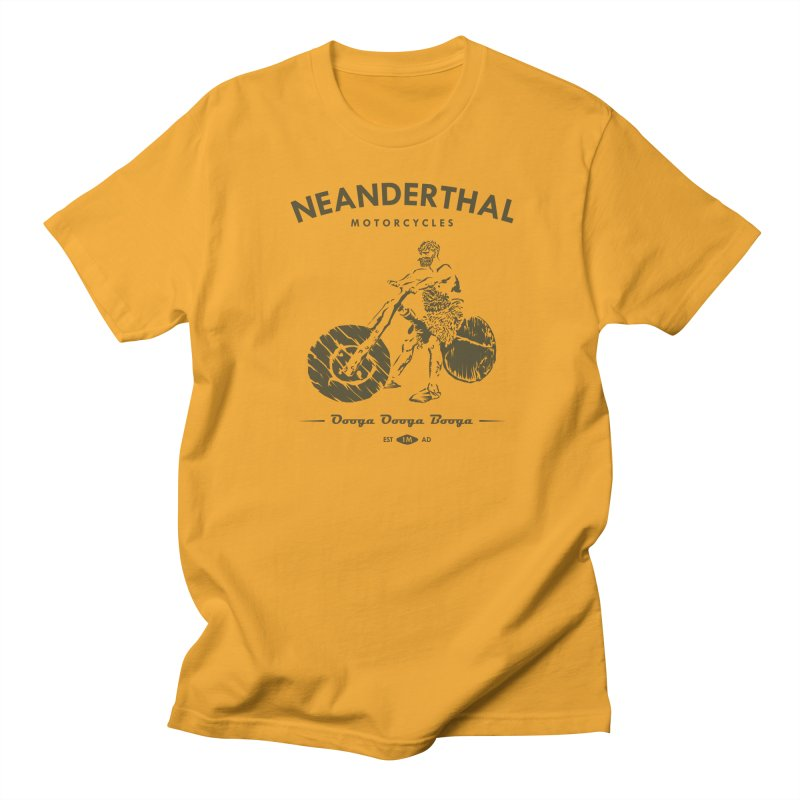 Neanderthal Motors Men's T-Shirt by Trybyk Art