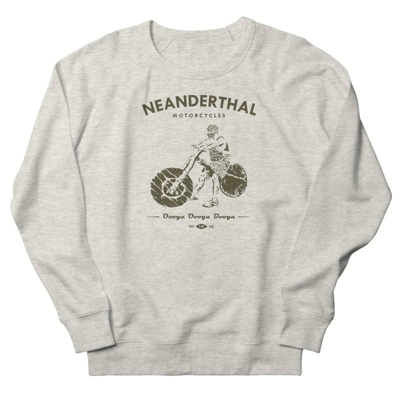 Neanderthal Motors Men's Sweatshirt by Trybyk Art