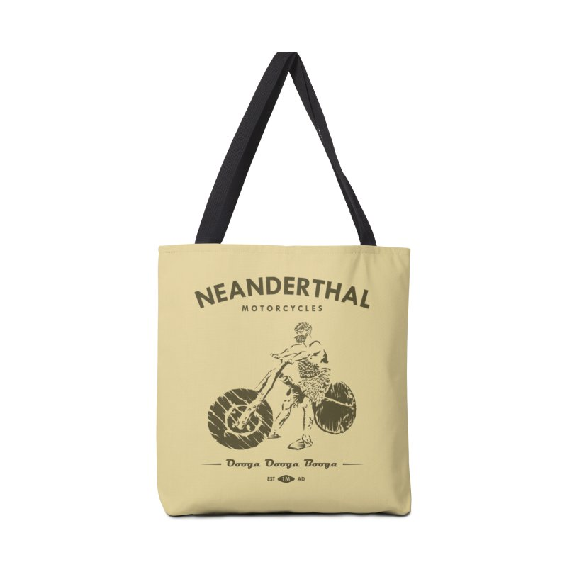 Neanderthal Motors Accessories Bag by Trybyk Art