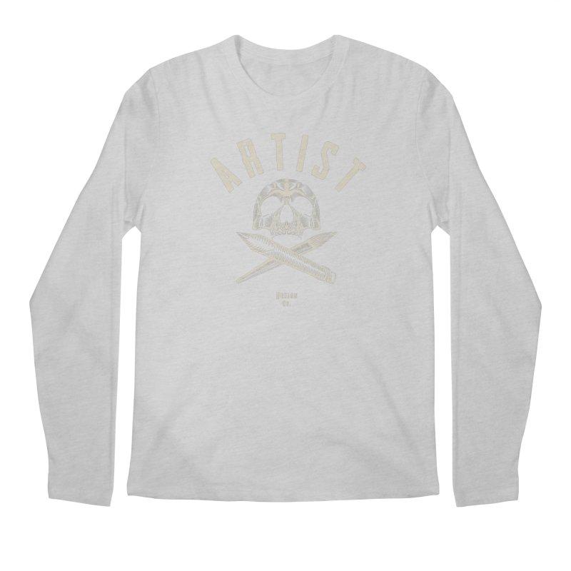 Artist to the Bone! Men's Longsleeve T-Shirt by Trybyk Art