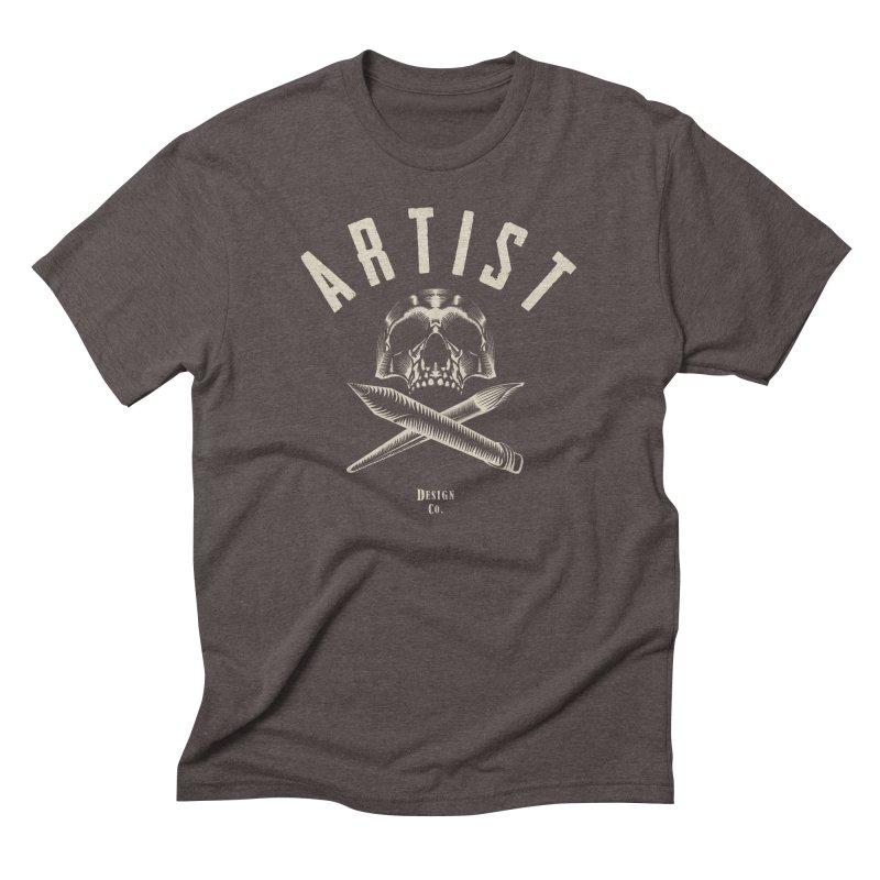 Artist to the Bone! Men's Triblend T-shirt by Trybyk Art