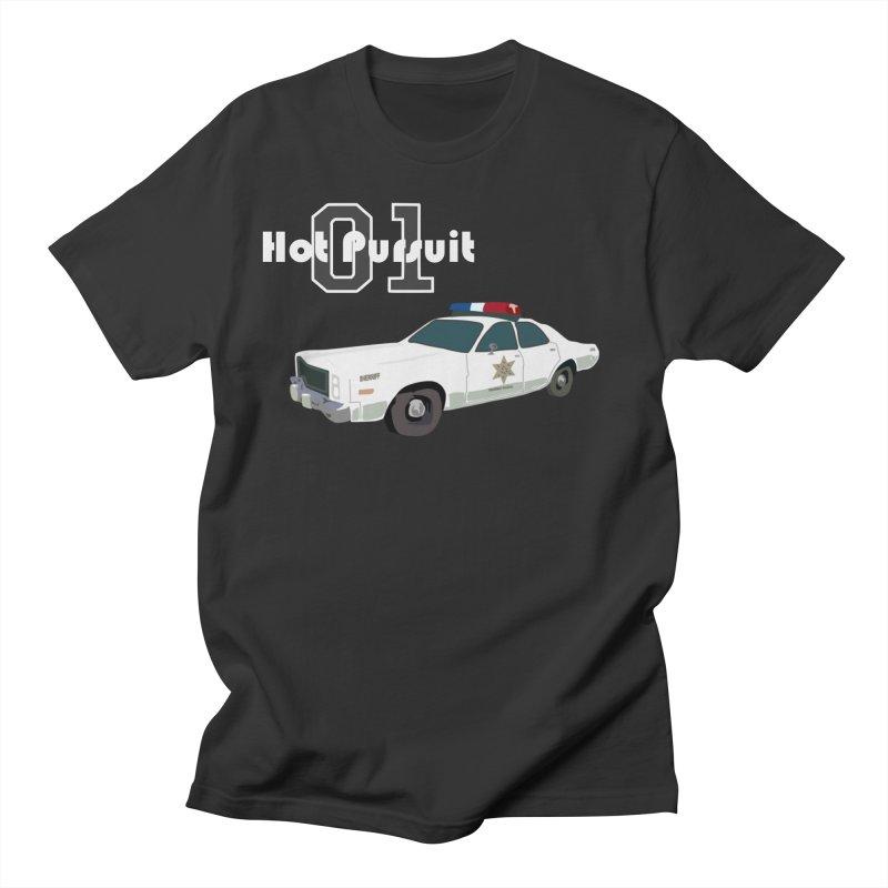 Hot Pursuit Men's T-Shirt by Trybyk Art
