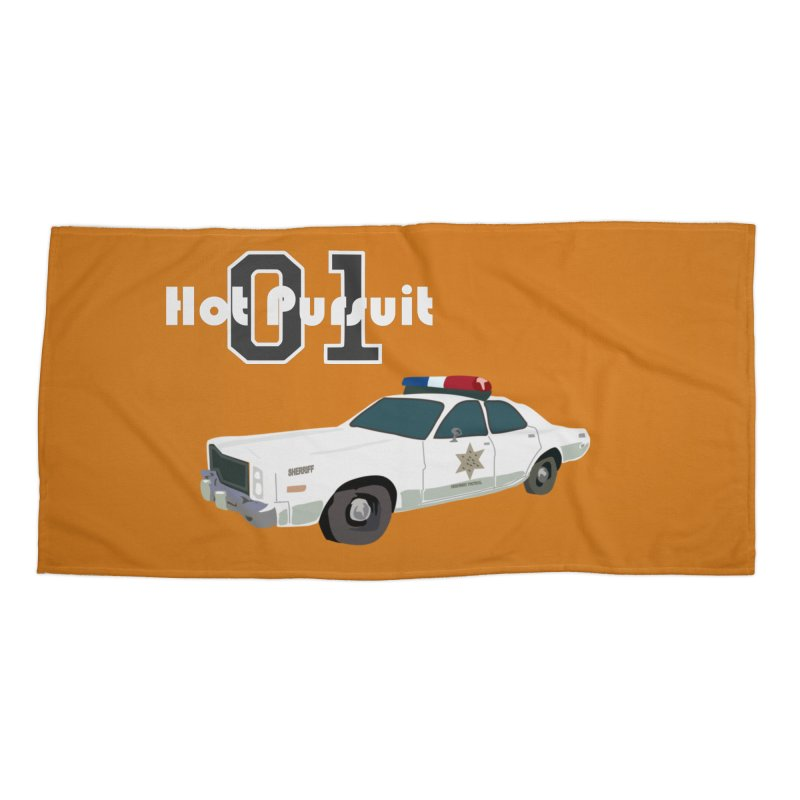Hot Pursuit Accessories Beach Towel by Trybyk Art