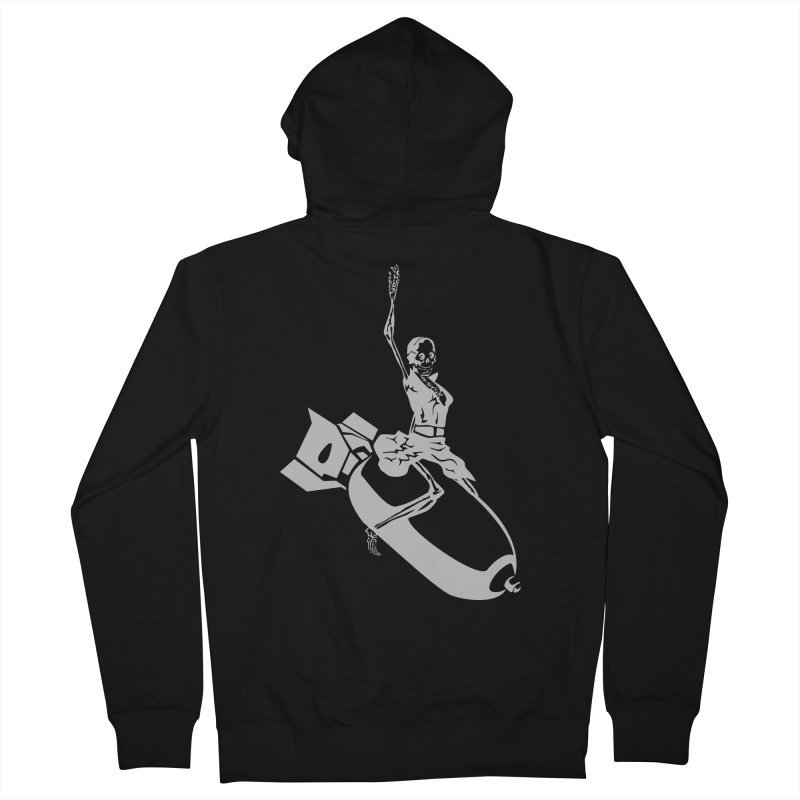 Bombshells Away! Men's Zip-Up Hoody by Trybyk Art