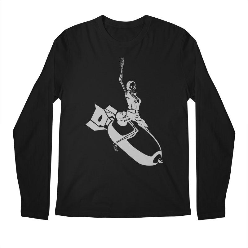 Bombshells Away! Men's Longsleeve T-Shirt by Trybyk Art