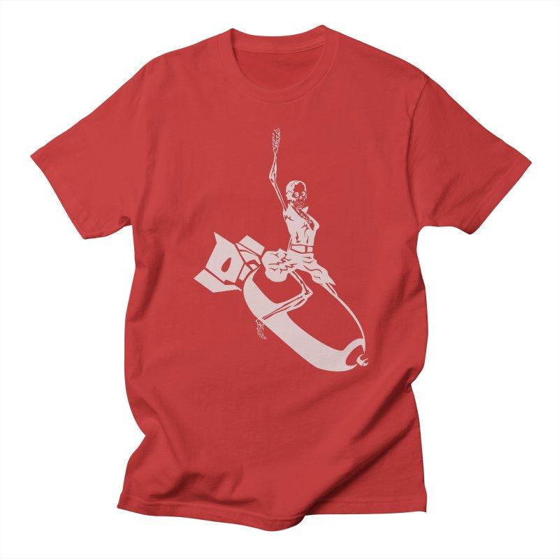 Bombshells Away! Men's T-Shirt by Trybyk Art