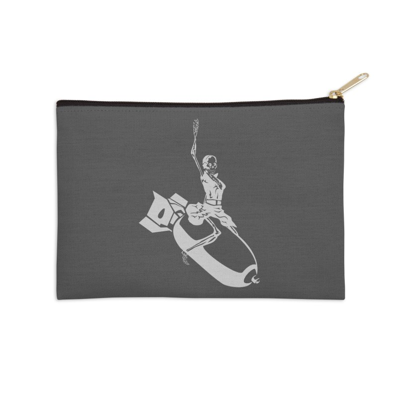 Bombshells Away! Accessories Zip Pouch by Trybyk Art