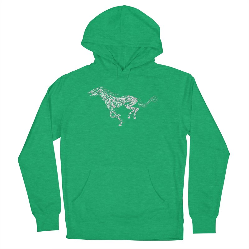 Death Horse Men's Pullover Hoody by Trybyk Art