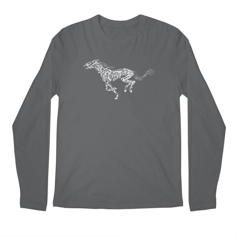 Death Horse Men's Longsleeve T-Shirt by Trybyk Art