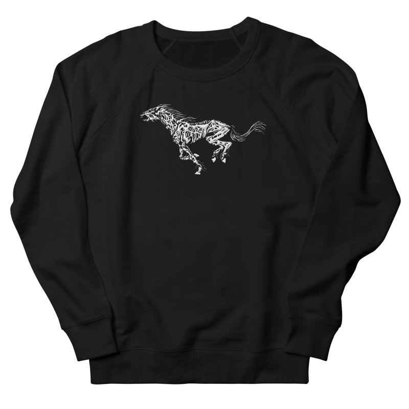 Death Horse Men's Sweatshirt by Trybyk Art