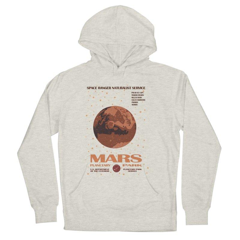Mars Women's Pullover Hoody by Trybyk Art