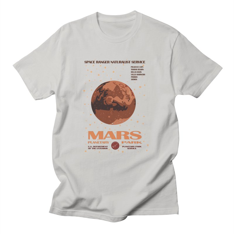 Mars Men's T-Shirt by Trybyk Art