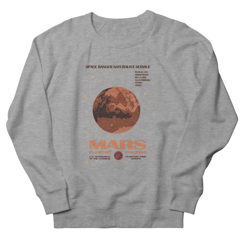 Mars Women's Sweatshirt by Trybyk Art