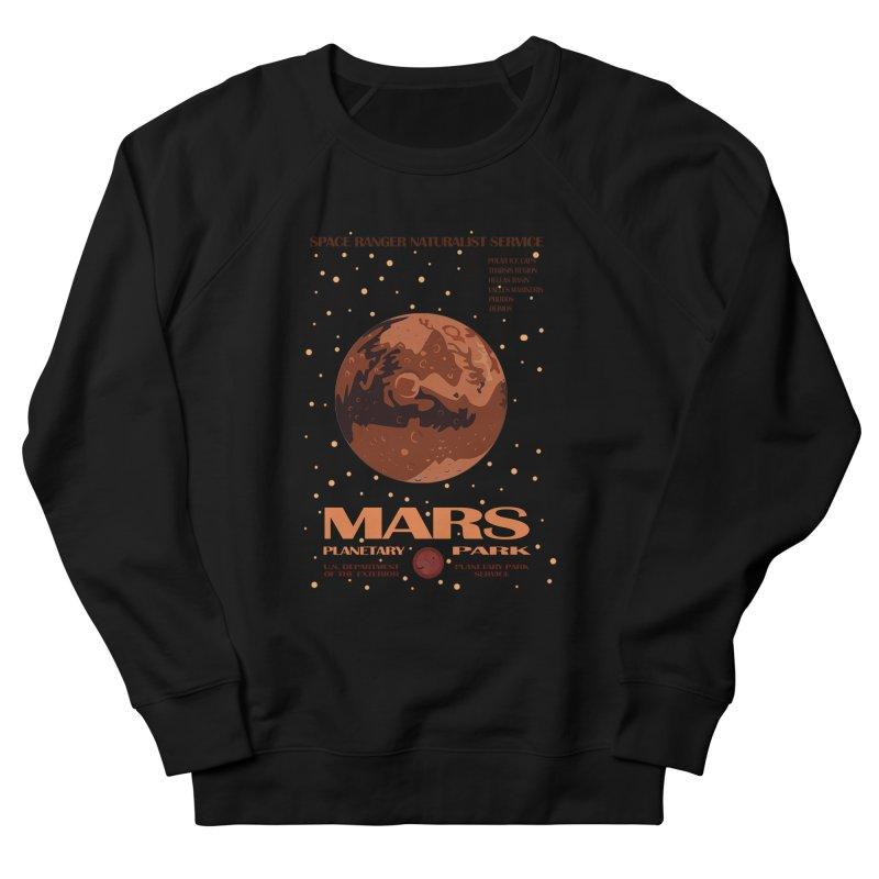 Mars Women's Sweatshirt by Trybyk Art