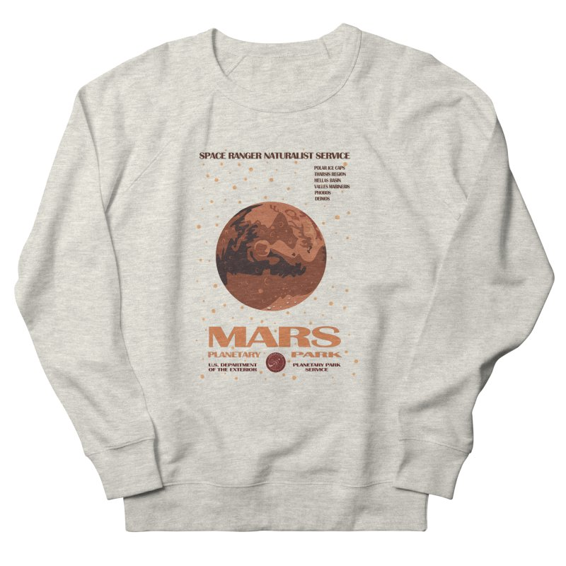 Mars Men's Sweatshirt by Trybyk Art