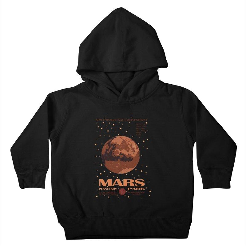 Mars Kids Toddler Pullover Hoody by Trybyk Art