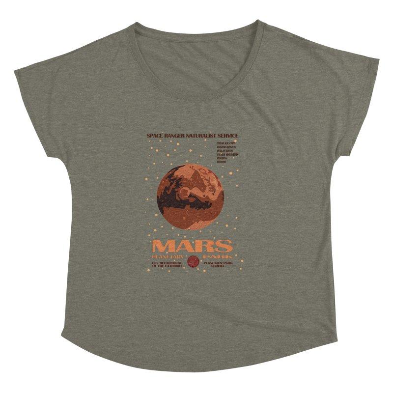 Mars Women's Dolman by Trybyk Art