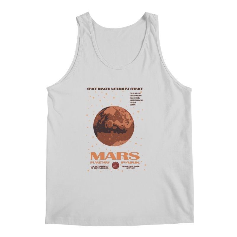 Mars Men's Tank by Trybyk Art
