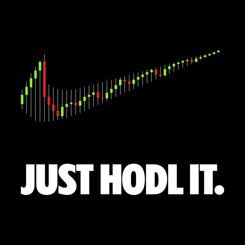 Just Hodl it Men's Tank by tryingtodoart's Artist Shop