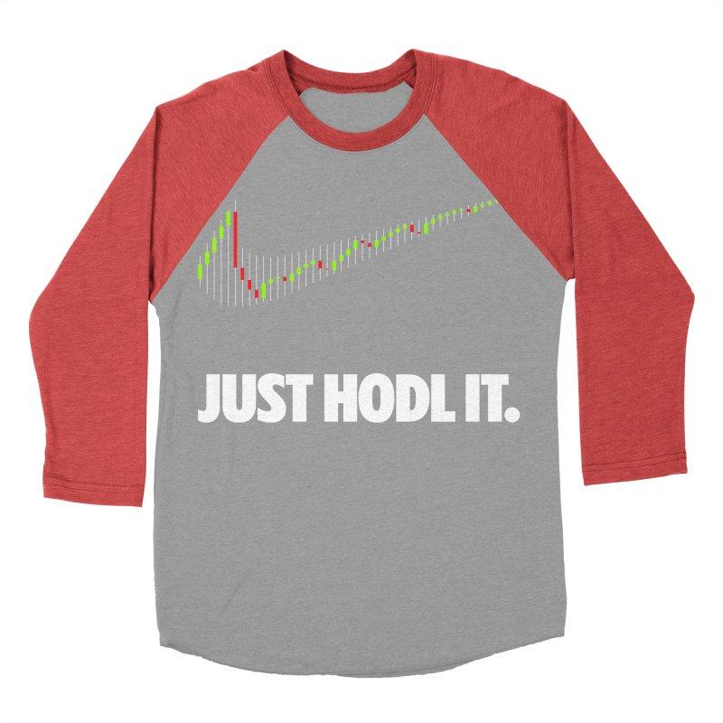 Just Hodl it Men's Longsleeve T-Shirt by tryingtodoart's Artist Shop